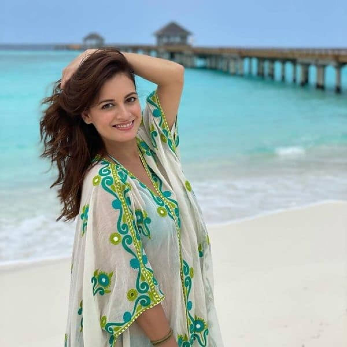 dia mirza announces pregnancy shares picture of her baby bump 1617294438 8035