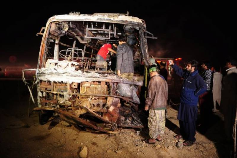 Tragic bus accident kills 57 in Karachi