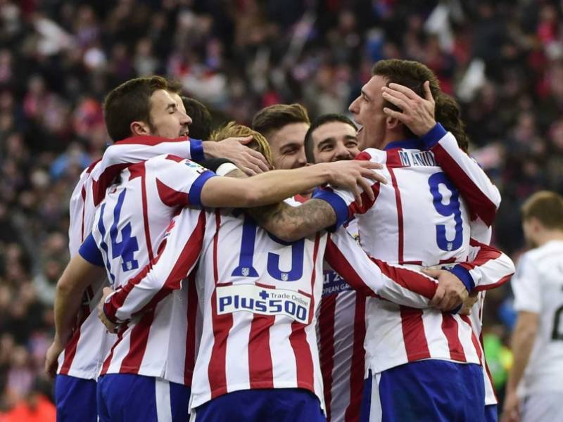 Football: Atletico thrash woeful Real 4-0 in Madrid derby