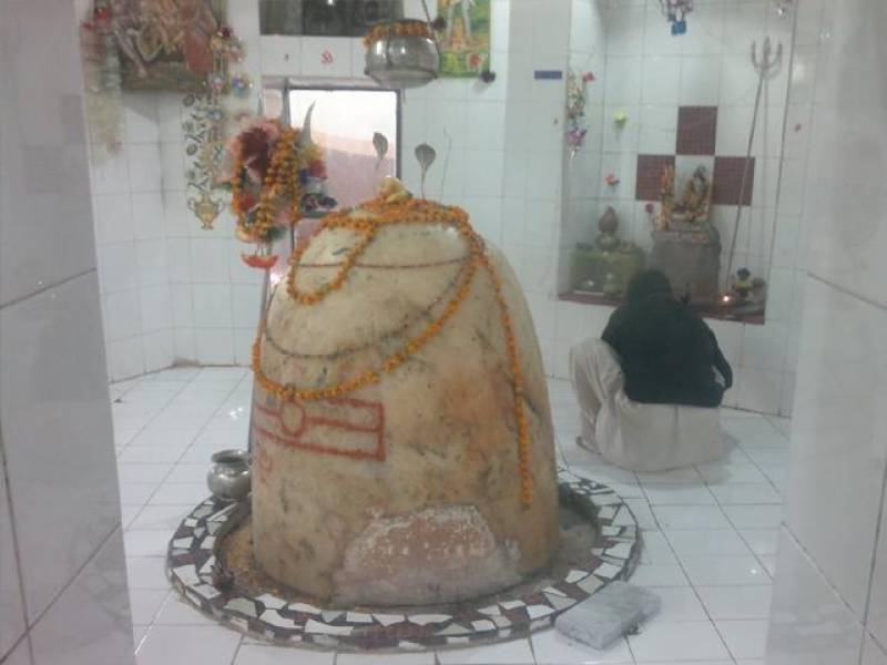 Hindus throng temple in Mansehra to mark Shivratri