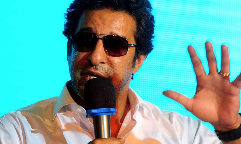 Wasim pulls up critics, says he's eager to help Pakistan