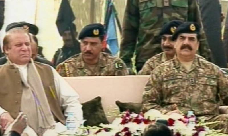 PM Nawaz, COAS Raheel attend CTF passing-out parade in Quetta