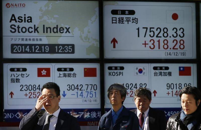 Tokyo boosted by Fed minutes but Sydney, Wellington dip