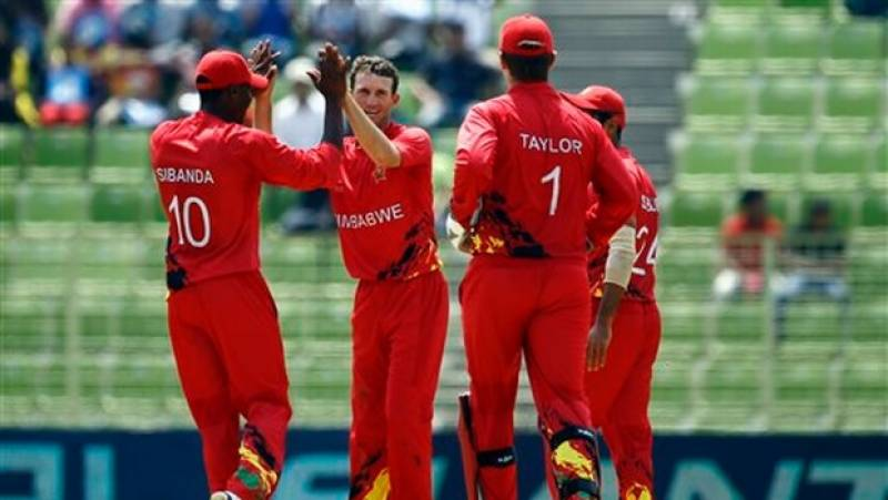 Zimbabwe beat UAE by four wickets