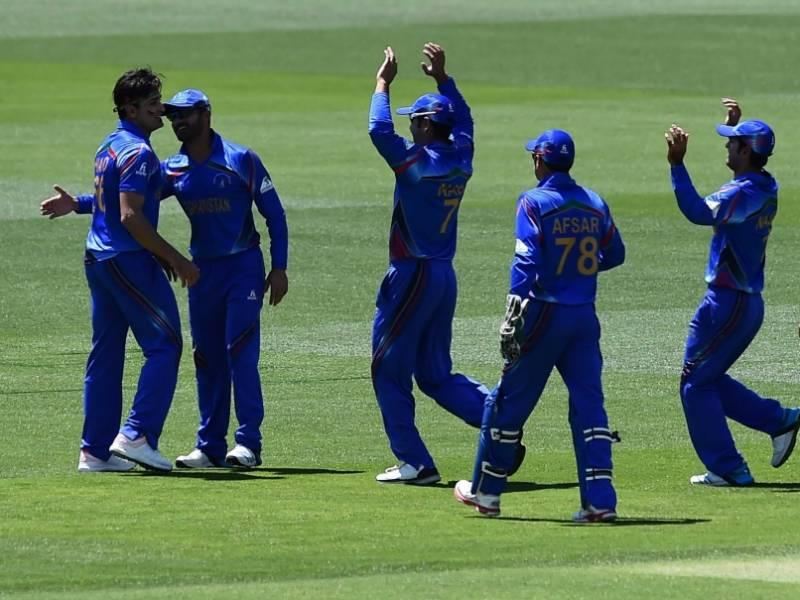 Afghanistan beats Scotland in 1st WC triumph