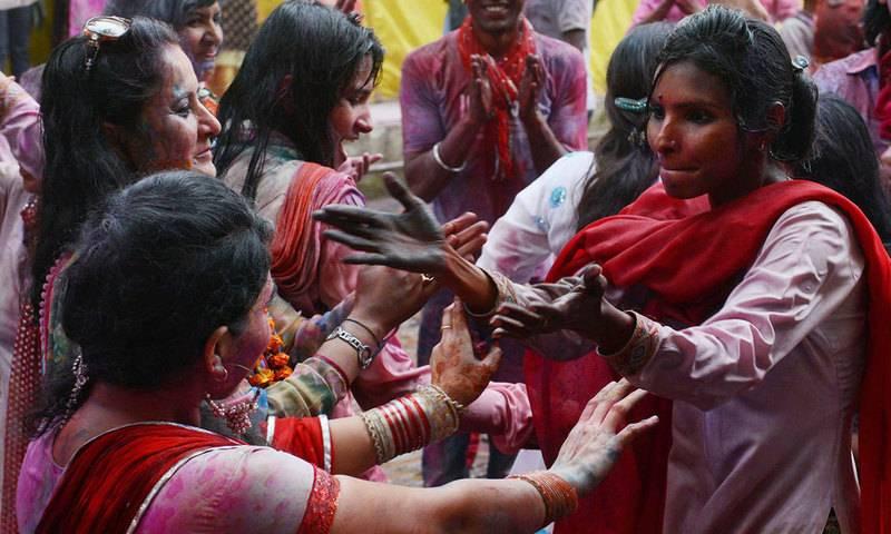 Hindu community celebrates Holi festival today