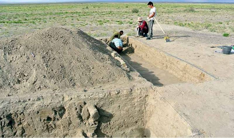13th-century fortress may have belonged to Genghis Khan