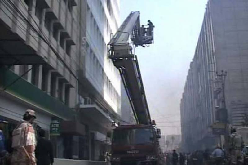 Fire in FBR building extinguished