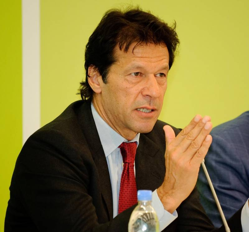 Imran exhorts women to stand up for rights, promises PTI support