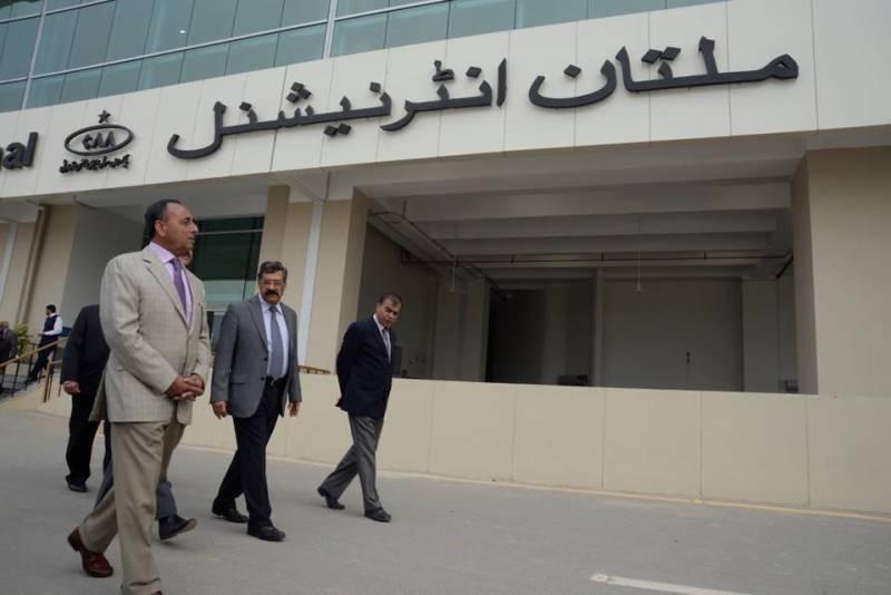 PM Nawaz inaugurates Multan International Airport
