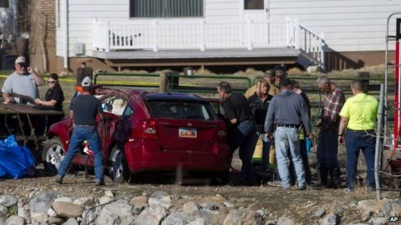 Toddler found alive 14 hours after car crash in Utah river