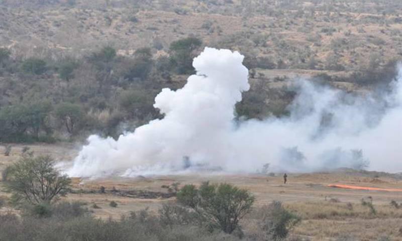 34 terrorists killed in air blitz