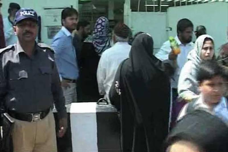 Karachi: Miscreants hurled a hand grenade at School