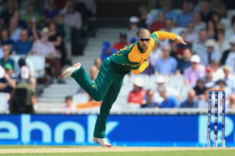 South Africa's JP Duminy takes World Cup quarter-final hat-trick