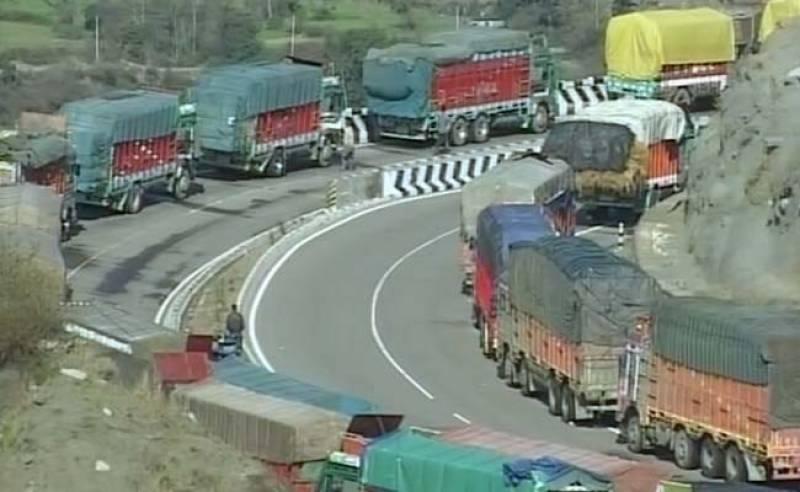 Srinagar-Jammu Highway remains closed for fourth day