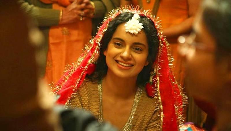 Kangana adjudged best actress in Indian National Film Awards