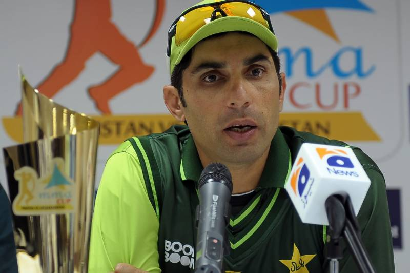 Outgoing Misbah thrashes critiques