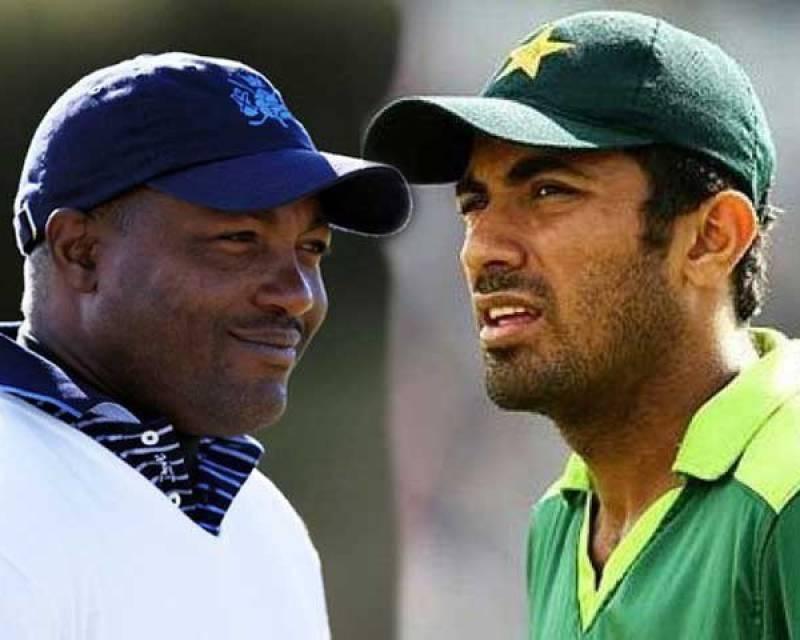 Wahab Riaz invites Brian Lara to Pakistan