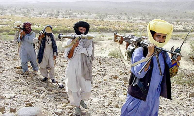 Four militants killed in trade of fire with FC in Balochistan