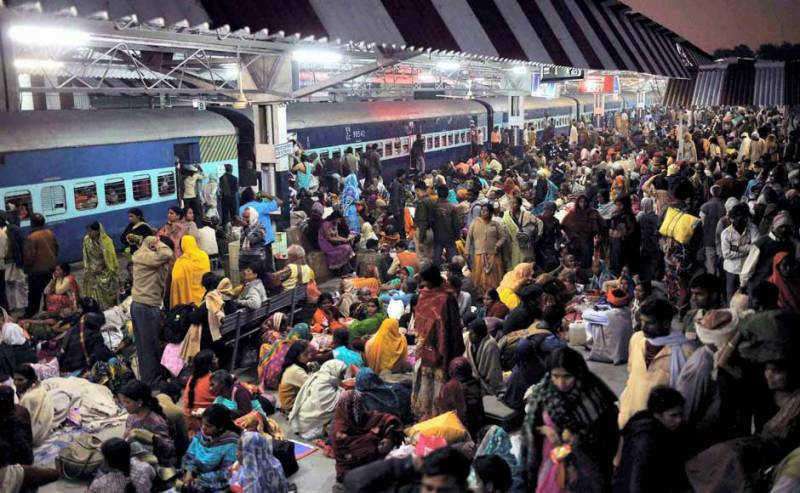 Only two toilets for 15,000 India rail passengers