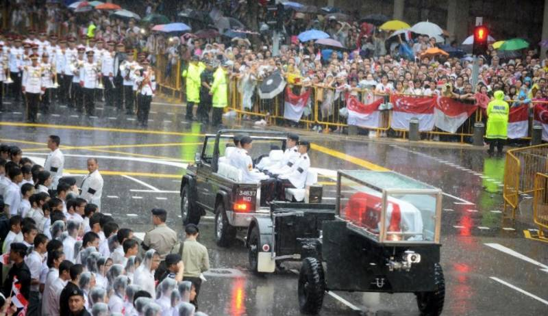 Singapore gives Lee Kuan Yew a hero's funeral