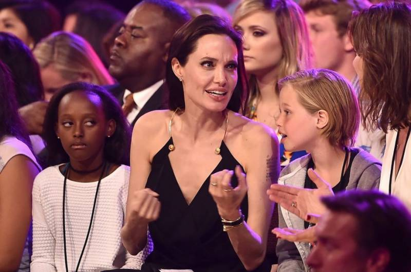 Angelina Jolie's empowerment message to kids: Different is good
