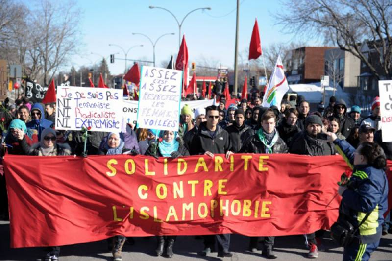 Anti-Islam protest in Montreal scuttled by opposition activists