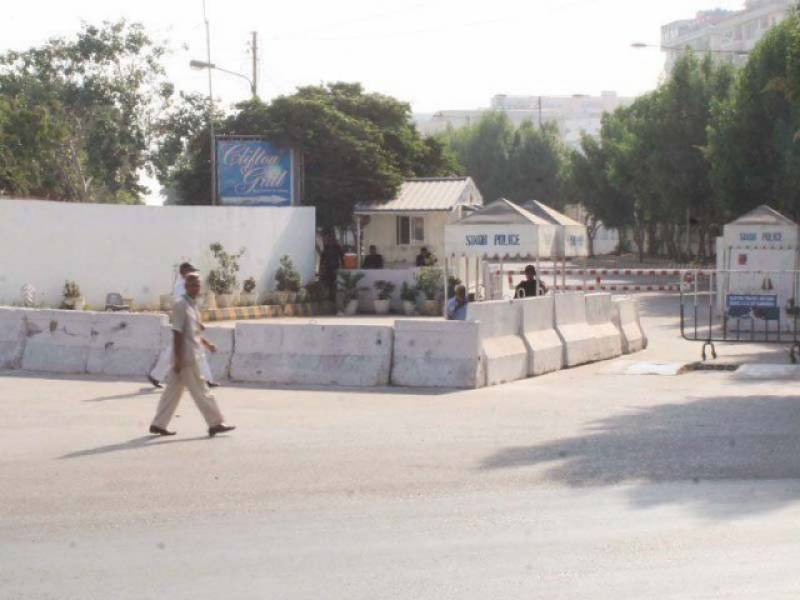 Orders for removal of barriers outside Bilawal House