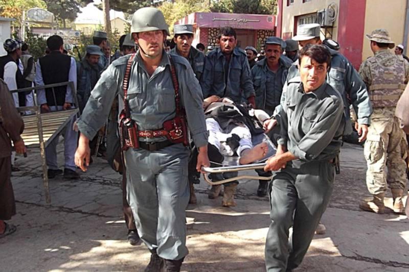 10 killed, dozens injured in Afghanistan bombing