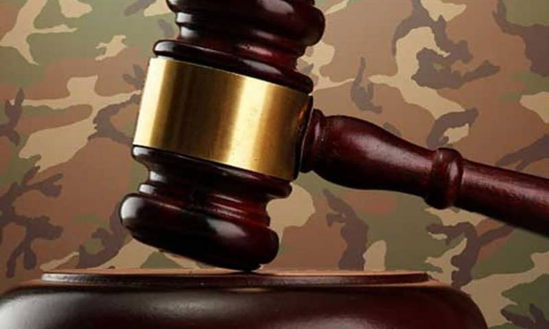 Military courts award death sentence to six terrorists