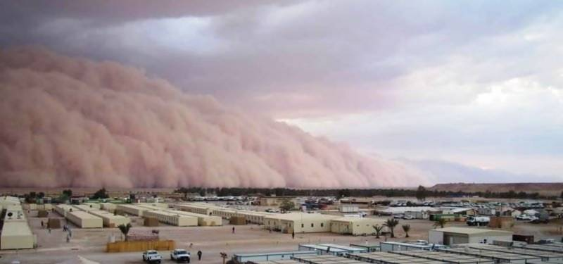 Sandstorm hits UAE, poor visibility disrupts flights