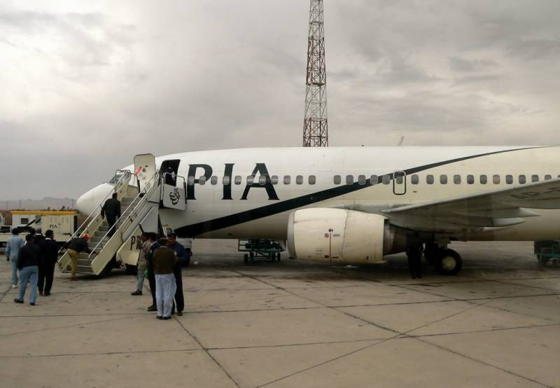 PIA plane lands in Islamabad with 176 stranded Pakistanis