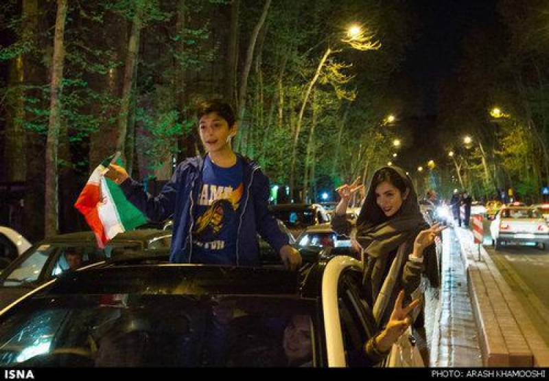 Celebrations erupt in Iran over nuclear deal