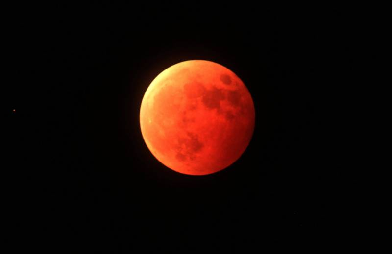 Lunar eclipse to feature 'blood moon'