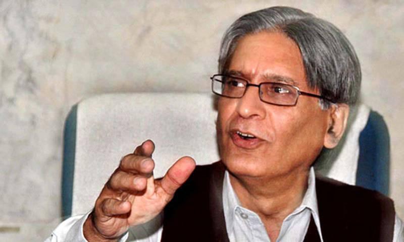 Aitzaz hails PTI's return to assemblies