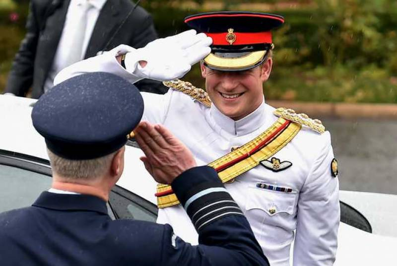 Britain's Prince Harry arrives in Australia to serve in army