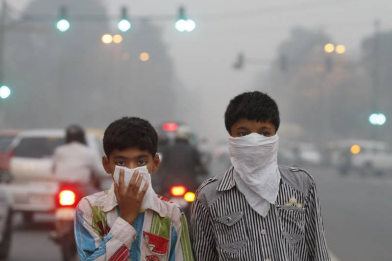 India measures air quality in world's most polluted capital
