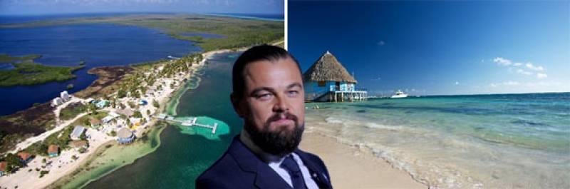 Leonardo DiCaprio building eco-resort on his private island