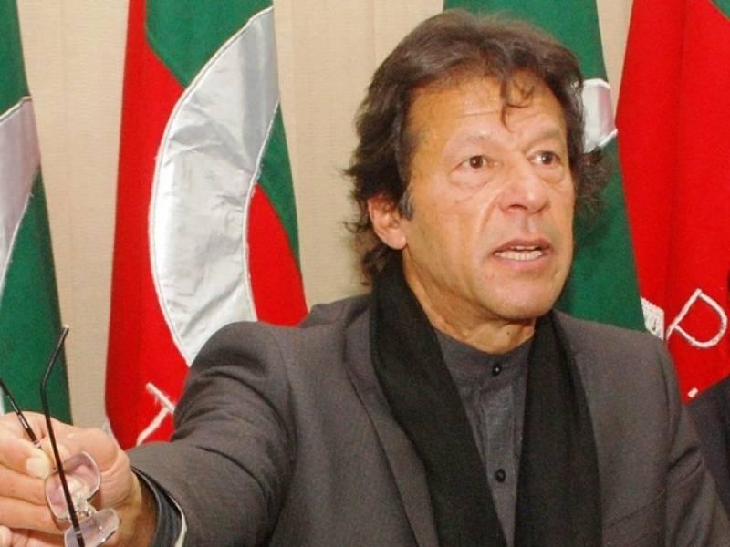 Imran khan to visit NA-246 today