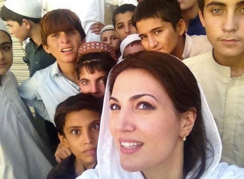 Reham Khan becomes KP's official ambassador for street children