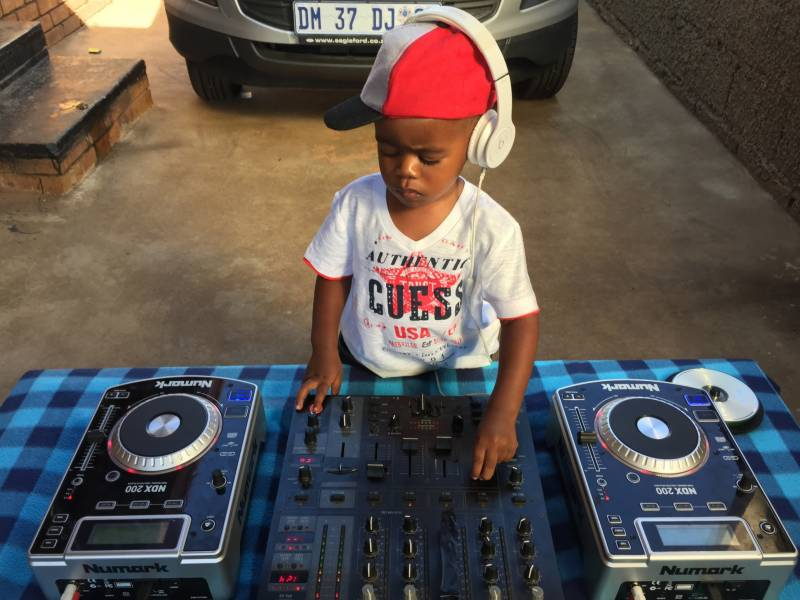 This 2-year-old DJ is rocking the world!