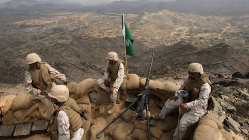 Three Saudi officers killed in Houthis' assault on Yemen border