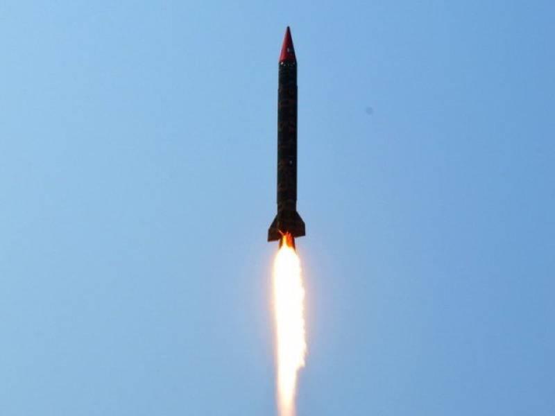 Pakistan successfully test fires Ghauri Missile