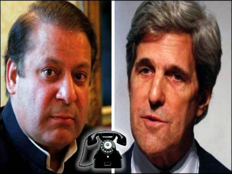PM Sharif, John Kerry discuss Yemen conflict