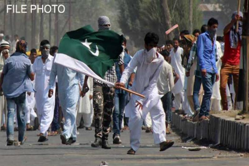Several arrested as rally waves Pakistani flags in Indian occupied Kashmir