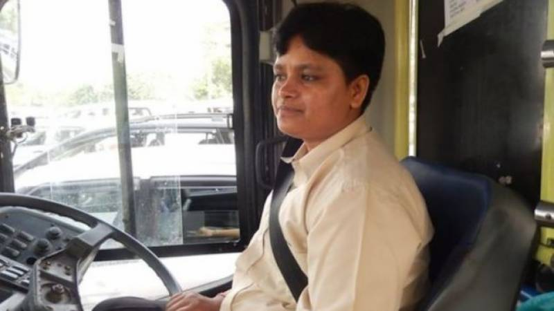 First woman bus driver takes the wheels in rape-tainted Delhi