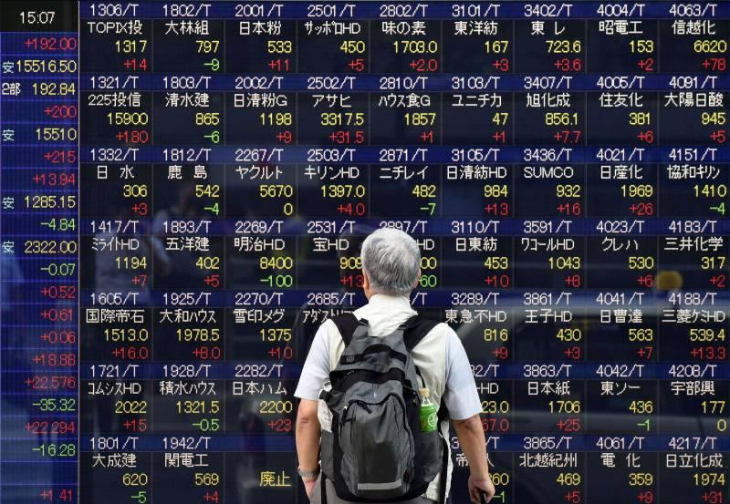 Most Asian markets up, Tokyo at 15-year high