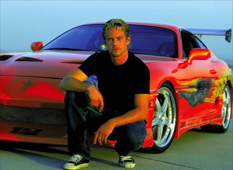 Paul Walker's Fast and Furious Toyota Supra goes under hammer