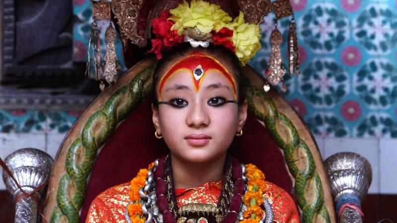 Nepal quake failed to shake this 'living goddess'