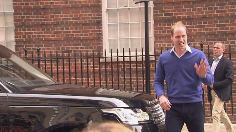 Prince William very happy at girl's birth